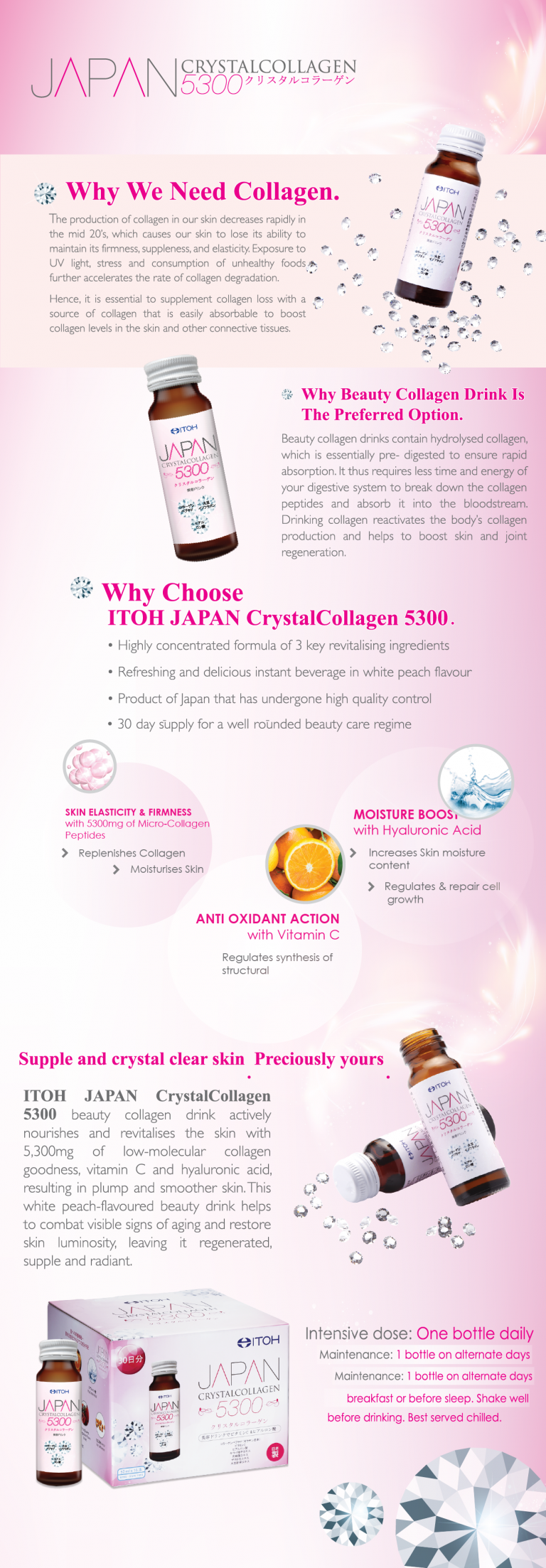 Japan Crystalcollagen 5300