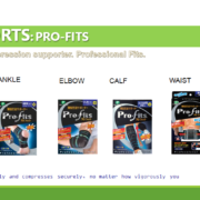 PRO-FITS ANKLE SUPPORTS M 3