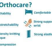 Orthocare Wrist Support Free Size 3